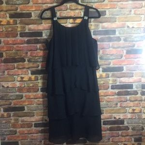 NWOT Beautiful Black Evening Dress